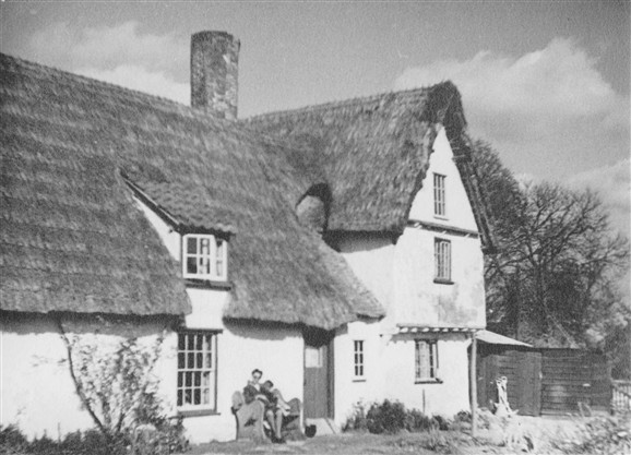 Photo:Lotfields (No.22) from the rear in 1952
