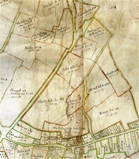 Photo:The 1686 Chicheley Map