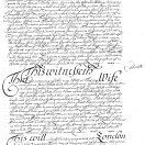 Page link: Will of John Godfrey 1659