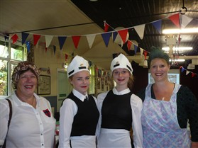 Photo:Our Nippy waitresses and caterers