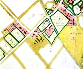 Photo:Grove Farm, opposite the Hurdleditch turning. From the 1950 Land Use map.