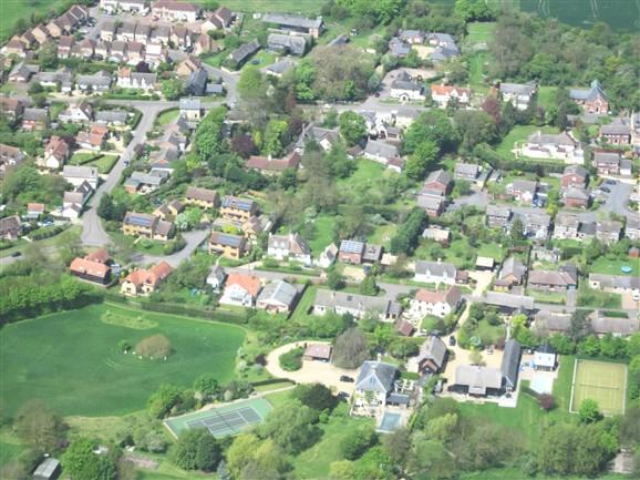 Photo: Illustrative image for the 'Lotfield Street - Aerial photo 2012' page