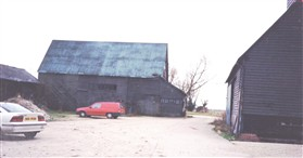 Photo:The barns before conversion to residential