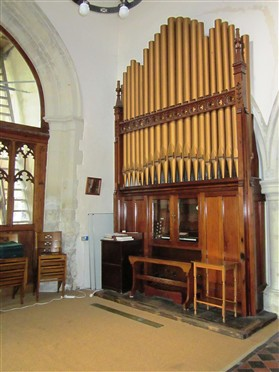 Photo:The new organ, 2012