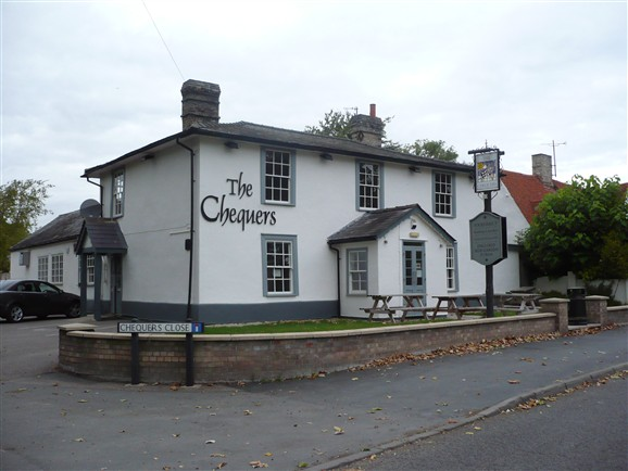 Photo:The Chequers under new management September 2012