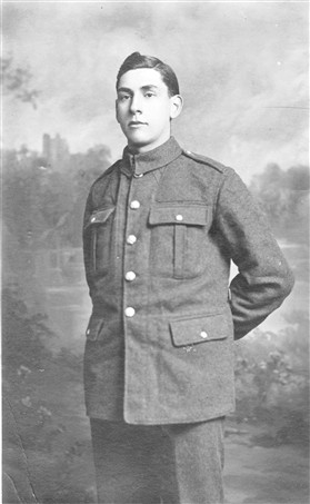 Photo:Percy Miller in Royal Flying Corps uniform