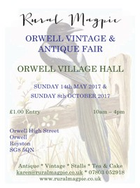 Photo: Illustrative image for the 'Orwell Vintage and Antique Fair' page