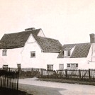 Photo:Rooks and Gills cottages (now demolished) opposite Orchard Cottage.