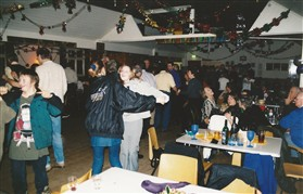 Photo:1.00am on 1st January 2000, and the party continues in the Village Hall