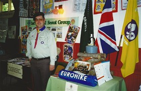 Photo:Attention, this is the 1st Orwell Scout Group stand.