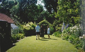Photo:An Orwell garden, demonstrating another event in splendid sunshine