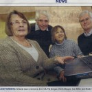 Photo:At the event, as published in the Cambridge News on 21/01/13