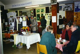 "Photo:In 2000 a ""Showcase"" was held in the hall to show the Clubs, Societies & Businesses in Orwell"