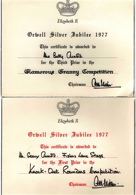 Photo: Illustrative image for the 'The Queen's Silver Jubilee' page