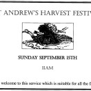 Page link: ST ANDREW'S CHURCH HARVEST FESTIVAL