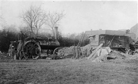 Photo:Threshing at Orwell