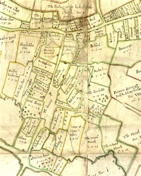 Photo:The Chicheley Map of 1686.