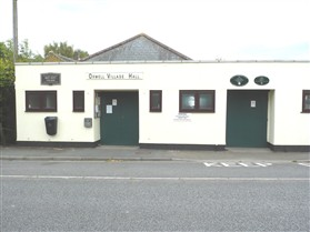 Photo:Orwell Village Hall 2010 New Front Doors were fitted in 2011