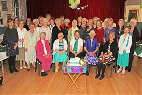 Photo:WI photo call for our 90th birthday
