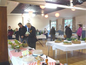 Photo:Show Day in Orwell Village Hall