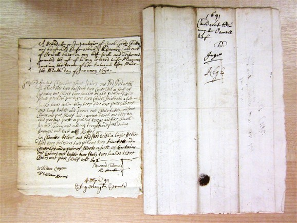 Photo: Illustrative image for the 'Will of Edward Caldecutt 1690' page